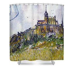 Castle Mount Shower Curtain