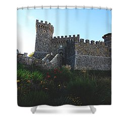Castle Of Love Shower Curtain by Laurie Search