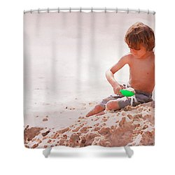 Castlemaker Shower Curtain by Alice Gipson