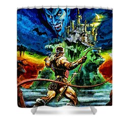 Castlevania Shower Curtain