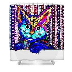 Cat 1 Shower Curtain