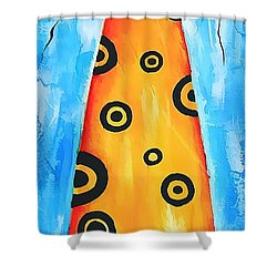 Cat 649 - Marucii Shower Curtain by Marek Lutek