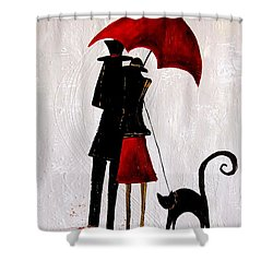 Cat 726 Shower Curtain