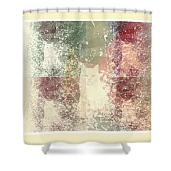 Cat Heaven Shower Curtain by Sherry Flaker