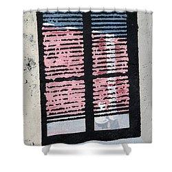 Cat N Window Shower Curtain