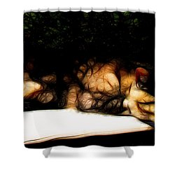 Cat Nap 1 Shower Curtain