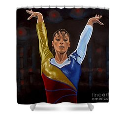 Catalina Ponor Shower Curtain by Paul Meijering