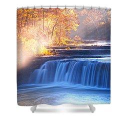 Cataract Falls Indiana Shower Curtain