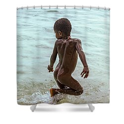 Catch Me If You Can Shower Curtain