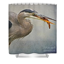 Shower Curtain featuring the photograph Catch Of The Day by Heather King