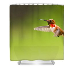 Catching Motion Shower Curtain