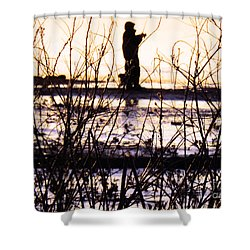 Shower Curtain featuring the photograph Catching The Sunrise by Robyn King