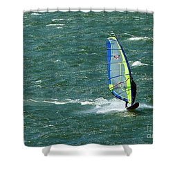 Catching Wind And Surf Shower Curtain