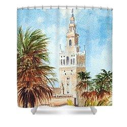 Catedral De Sevilla Shower Curtain