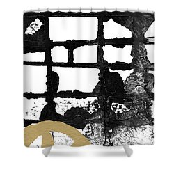 Cathedral- Abstract Painting Shower Curtain