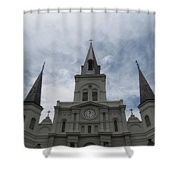 Shower Curtain featuring the photograph Cathedral I by Beth Vincent