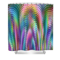 Cathedral Shower Curtain by Mariarosa Rockefeller