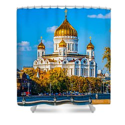 Cathedral Of Christ The Savior - 1 Shower Curtain