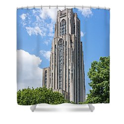 Cathedral Of Learning - Pittsburgh Pa Shower Curtain