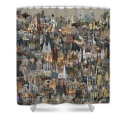 Cathedri Shower Curtain