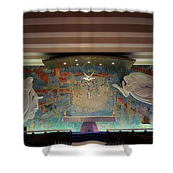 Catholic Chapel At Air Force Academy Shower Curtain