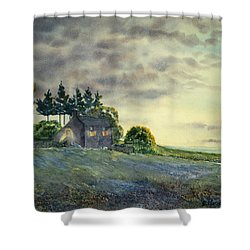 Cathy Come Home Shower Curtain