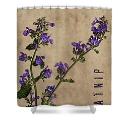 Catnip Shower Curtain