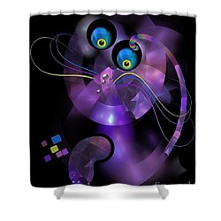 Cats 006-13 - Marucii Shower Curtain