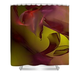 Shower Curtain featuring the digital art Cause An Effect by Jeff Iverson