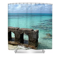 Causeways Ancient And Modern Shower Curtain