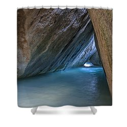 Cave At The Baths Shower Curtain