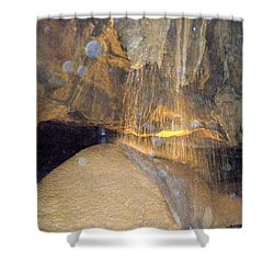 Cave Shower Curtain by Denny Casto