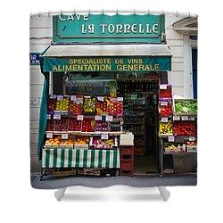 Cave La Tonnelle Shower Curtain by Inge Johnsson