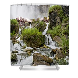 Cave Of The Winds At Niagara Falls Shower Curtain