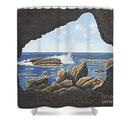 Cave View Shower Curtain