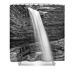 Cavern Cascade Watkins Glen Shower Curtain