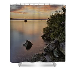 Cayuga Sunset I Shower Curtain