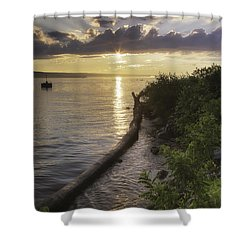 Cayuga Sunset II Shower Curtain