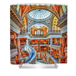 Ceasar's New Palace Shower Curtain by Paul Mashburn