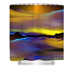 Cebu Sunset Shower Curtain