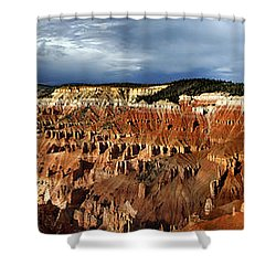 Cedar Breaks Shower Curtain