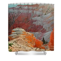 Cedar Breaks Utah Shower Curtain