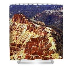 Cedar Breaks Utah Shower Curtain by Rich Franco