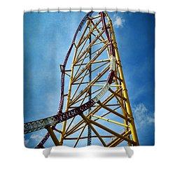Cedar Point - Top Thrill Dragster Shower Curtain