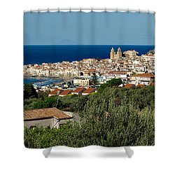 Cefalu Sicily Shower Curtain