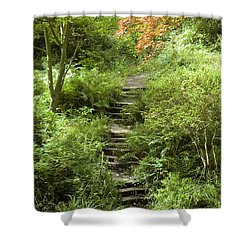 Cefn Onn Shower Curtain by Jeremy Voisey