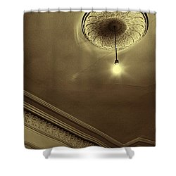 Shower Curtain featuring the photograph Ceiling Light by Craig B
