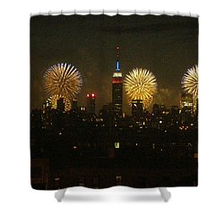 Celebrate Freedom Shower Curtain