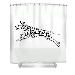 Celebrate Shower Curtain by Jacki McGovern