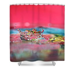 Celebration Shower Curtain by Lisa Knechtel